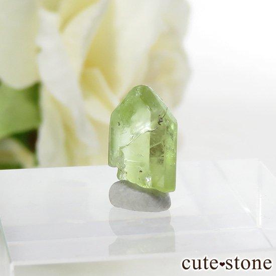 パキスタン産 ペリドットの結晶(原石)3.3ctの写真0 cute stone