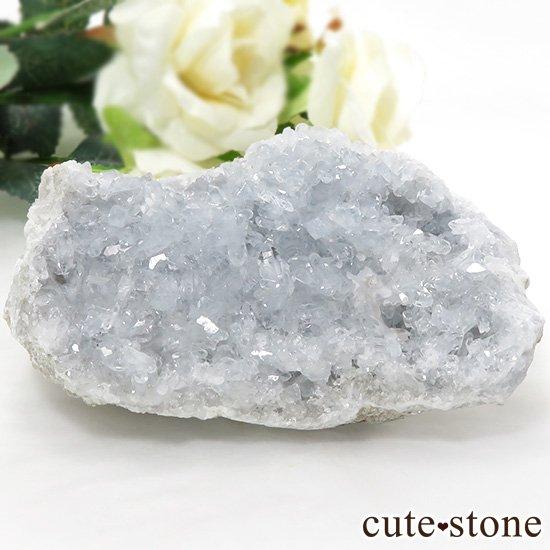セレスタイトの原石(クラスター)マダガスカル産 281g