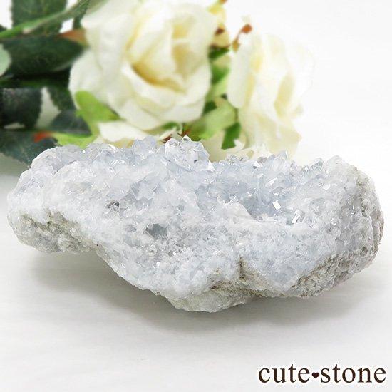 セレスタイトの原石(クラスター)マダガスカル産 281gの写真0 cute stone