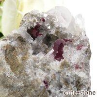 貴州省産 辰砂(シンシャ)シナバーの母岩付き原石