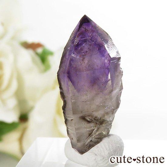 カリフォルニア産 アメジストの単結晶(原石) 3.8g