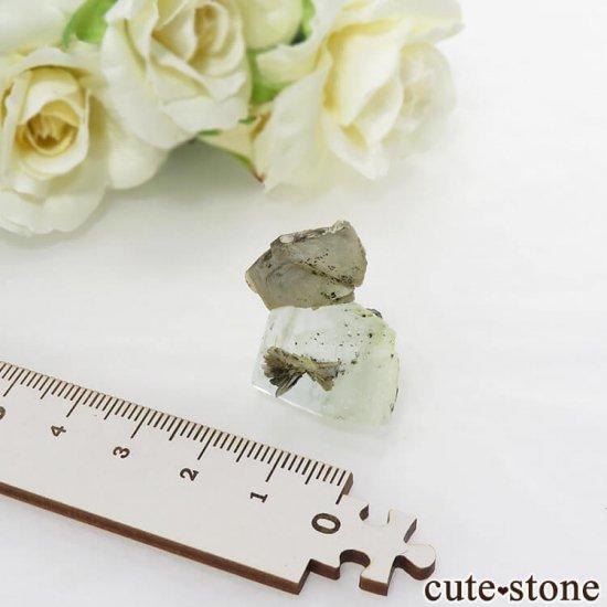 パキスタン産 アクアマリンの原石 9gの写真1 cute stone