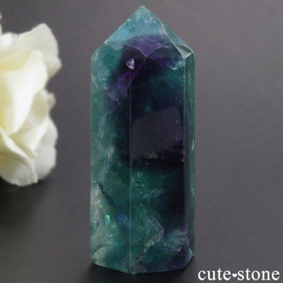 フェザーインフローライト(エンジェルフェザー)のポリッシュポイント 38.4gの写真2 cute stone