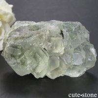 中国 Xianghualing Mine産 グリーンフローライトの結晶(原石) 96gの画像