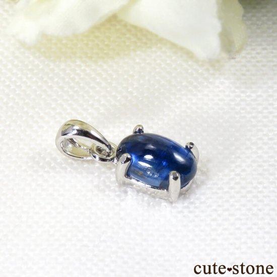 ネパール産カイヤナイトのsilver925製 ペンダントトップ No.2の写真0 cute stone