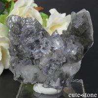 スペイン Emilio Mine産 カラーレスフローライトの母岩付き結晶(原石) 61gの画像