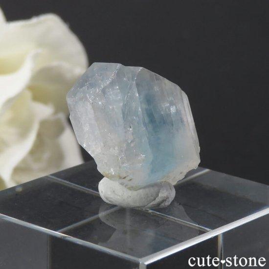 ブラジル産 ユークレースの結晶(原石) 19.3ctの写真1 cute stone