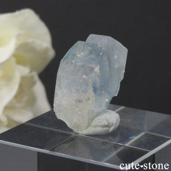 ブラジル産 ユークレースの結晶(原石) 19.3ctの写真5 cute stone