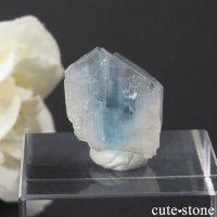 ブラジル産 ユークレースの結晶(原石) 19.3ctの画像