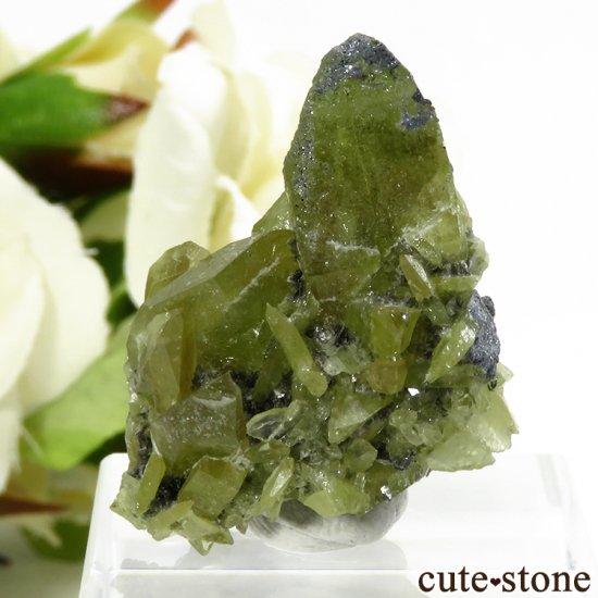 パキスタン スカルドゥ産 スフェーンの大きな結晶 (原石) 10.9g