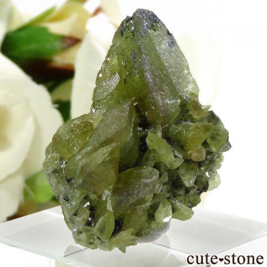 パキスタン スカルドゥ産 スフェーンの大きな結晶 (原石) 10.9gの写真0 cute stone