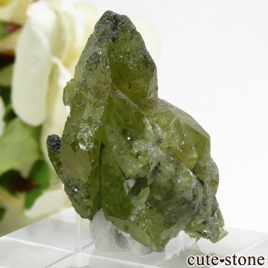 パキスタン スカルドゥ産 スフェーンの大きな結晶 (原石) 10.9gの写真2 cute stone