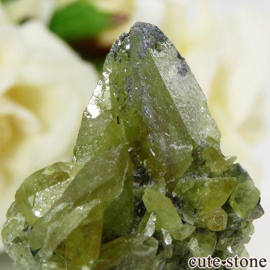 パキスタン スカルドゥ産 スフェーンの大きな結晶 (原石) 10.9gの写真4 cute stone