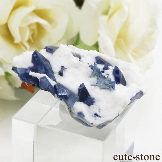 カリフォルニア産 ベニトアイトの母岩付き結晶(原石) 13.1gの写真0 cute stone