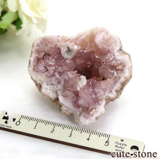 アルゼンチン産 ピンクアメジストの原石(クラスター)83.8gの写真2 cute stone