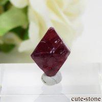 ミャンマー モゴク産 レッドスピネルの結晶(原石)9.4ctの画像