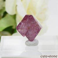 ミャンマー モゴク産 ピンクスピネルの結晶(原石)10.4ctの画像