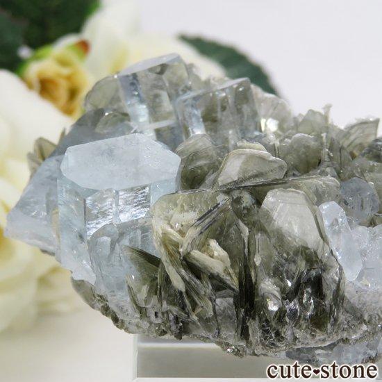 パキスタン産 アクアマリンの原石 72gの写真1 cute stone