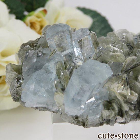 パキスタン産 アクアマリンの原石 72gの写真2 cute stone