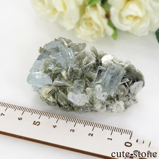 パキスタン産 アクアマリンの原石 72gの写真4 cute stone