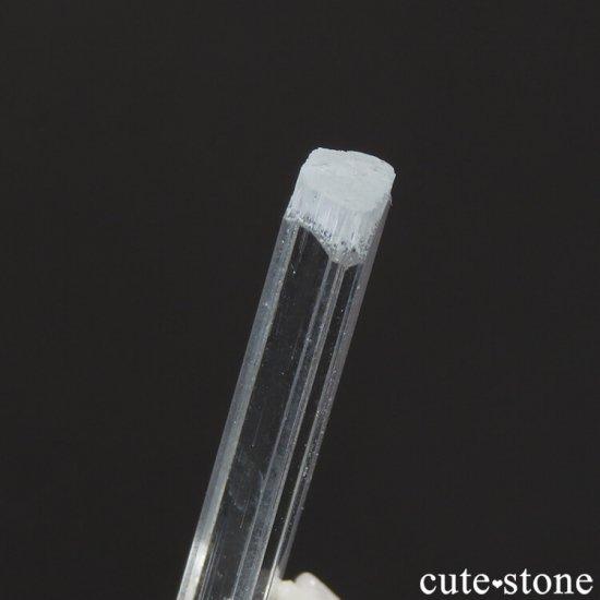 アクアマリンの結晶の先端