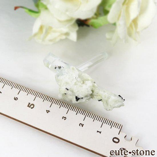 パキスタン スカルドゥ産 アクアマリンの結晶(原石)10.7gの写真4 cute stone