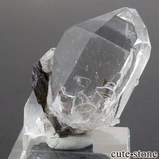パキスタン産 プラチナクォーツ(ブルッカイト&ルチルインクォーツ)の原石 22gの写真0 cute stone