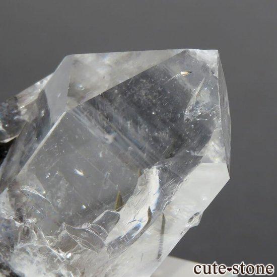 パキスタン産 プラチナクォーツ(ブルッカイト&ルチルインクォーツ)の原石 22gの写真2 cute stone