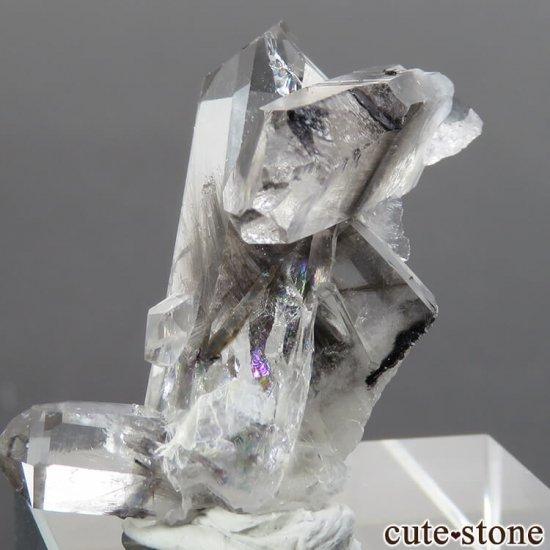 パキスタン産 プラチナクォーツ(ブルッカイト&ルチルインクォーツ)の原石 5.9gの写真2 cute stone