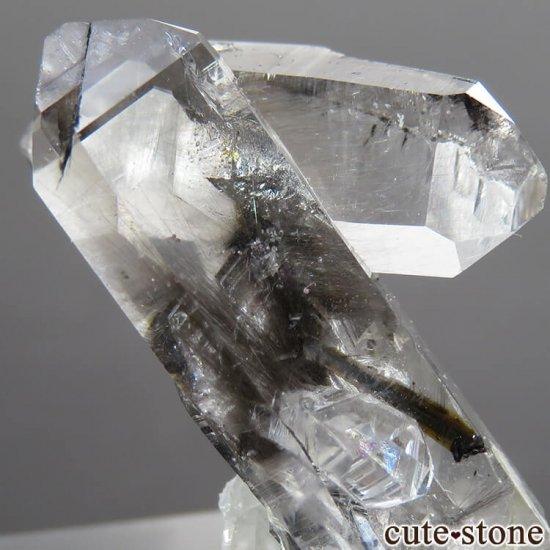 パキスタン産 プラチナクォーツ(ブルッカイト&ルチルインクォーツ)の原石 5.9gの写真4 cute stone
