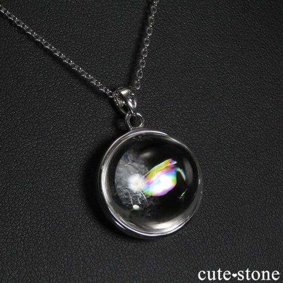 アイリスクォーツ(虹入り水晶)のペンダントトップの写真3 cute stone