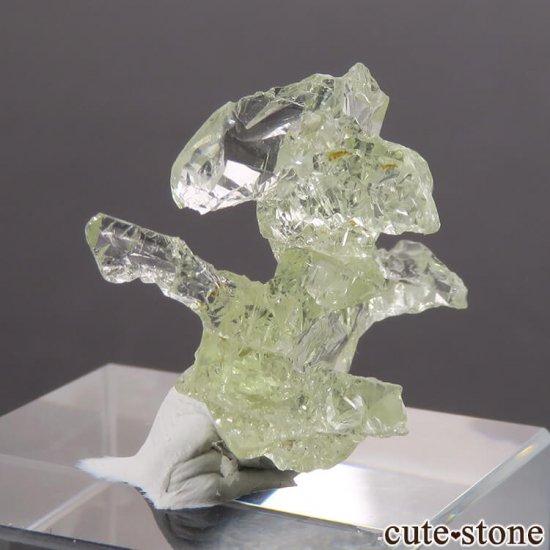 ブラジル産 エッチング(蝕像)ヘリオドールの結晶(原石) 2.7gの写真0 cute stone
