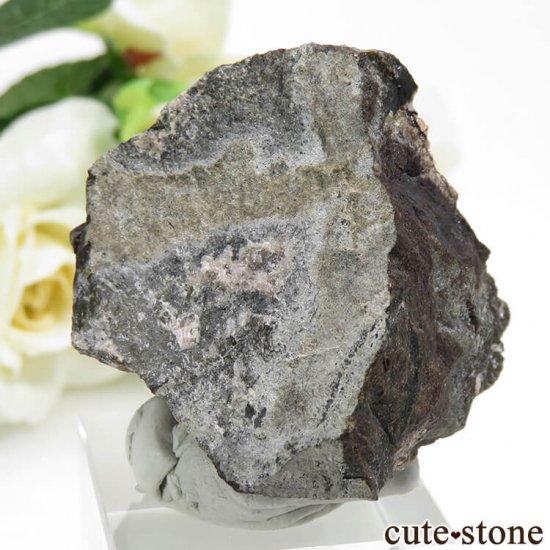 ペルー産 ロードクロサイト(インカローズ)の母岩付き結晶(原石) 48.8gの写真3 cute stone