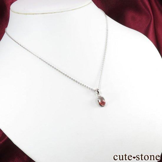 ファイアークォーツ(レピドクロサイトインクォーツ)ファントムのペンダントトップ No.1の写真4 cute stone