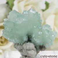 インド Wagholi Quarries産 グリーンアポフィライトの原石 6.8gの画像