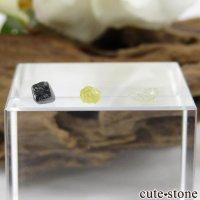 ザンビア産 ダイヤモンドの原石 3点セット No.3の画像