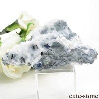 カリフォルニア産 ベニトアイト&ネプチュナイトの母岩付き結晶(原石) 49.8gの画像