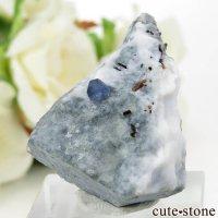 カリフォルニア産 ベニトアイト&ネプチュナイトの母岩付き結晶(原石) 15.7gの画像