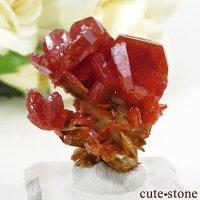 モロッコ産 バナジナイト&バライトの結晶(原石) 14gの画像