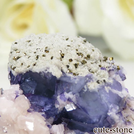 ヤオガンシャン産 ブルーフローライト 25.8gの写真4 cute stone