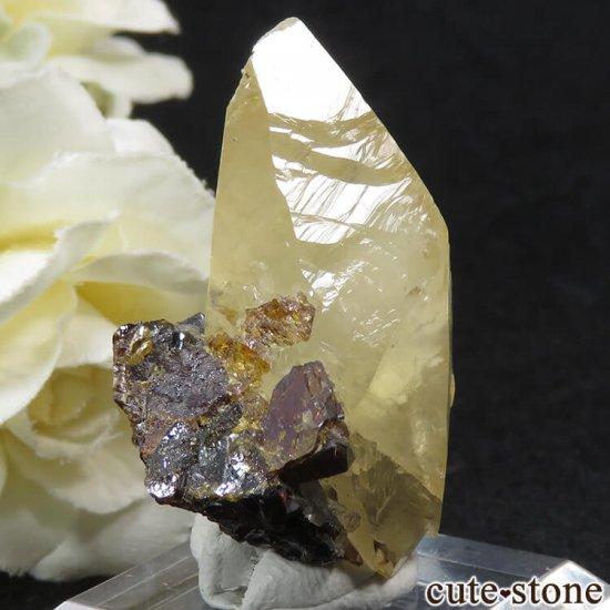 エルムウッド鉱山産 ステラビームカルサイト&スファレライト 16gの写真0 cute stone