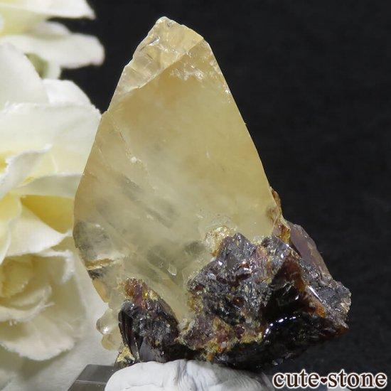 エルムウッド鉱山産 ステラビームカルサイト&スファレライト 16gの写真1 cute stone