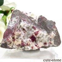 辰砂(シンシャ)シナバーの母岩付き原石 73.6gの画像