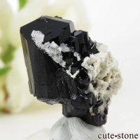 ナミビア エロンゴ産 ブラックトルマリン(ショール)の結晶(原石) 8.2gの画像
