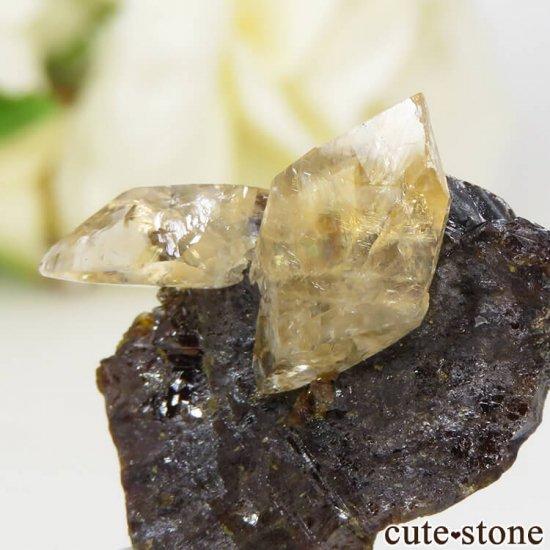 エルムウッド鉱山産 ステラビームカルサイトオンスファレライト 3.8gの写真2 cute stone