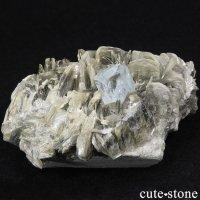 パキスタン産 アクアマリンの母岩付き結晶(原石) 224gの画像