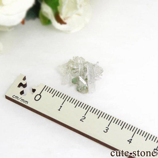 アメリカ産 クーカイト&クォーツの原石 1.5gの写真3 cute stone