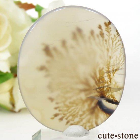 デンドリティックアゲートのルース 28.3ctの写真1 cute stone