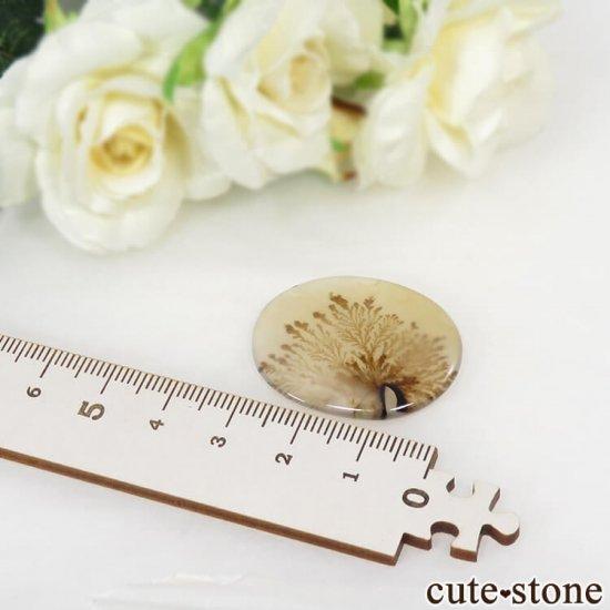 デンドリティックアゲートのルース 28.3ctの写真2 cute stone