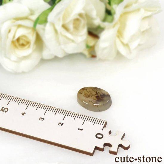 デンドリティックアゲートのルース 11.1ctの写真4 cute stone